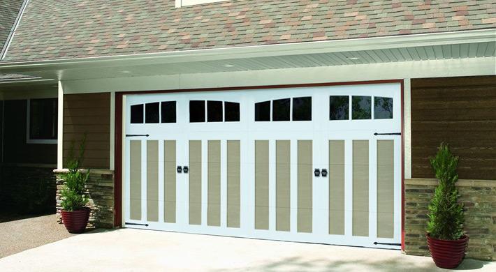 Steel Garage Door - Carriage Court