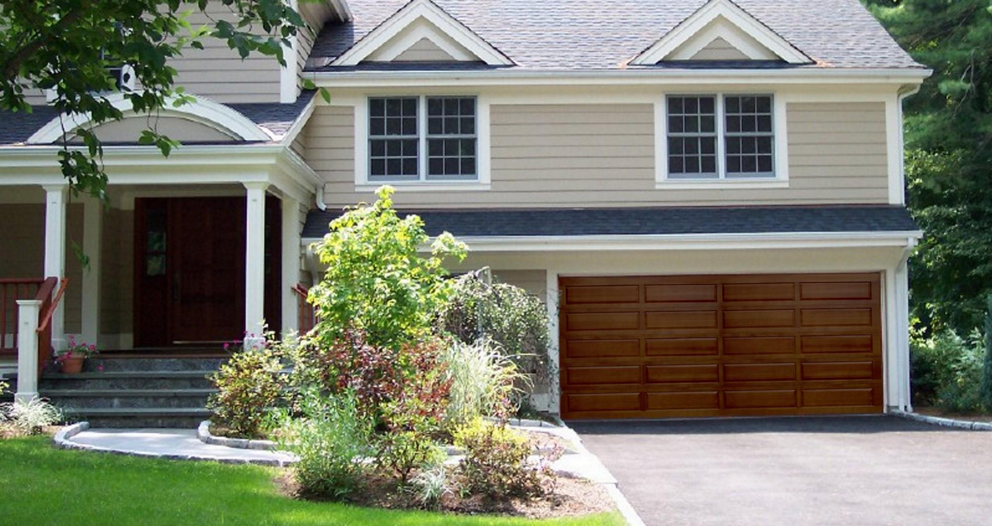 Wood Garage Door - Panel Collection